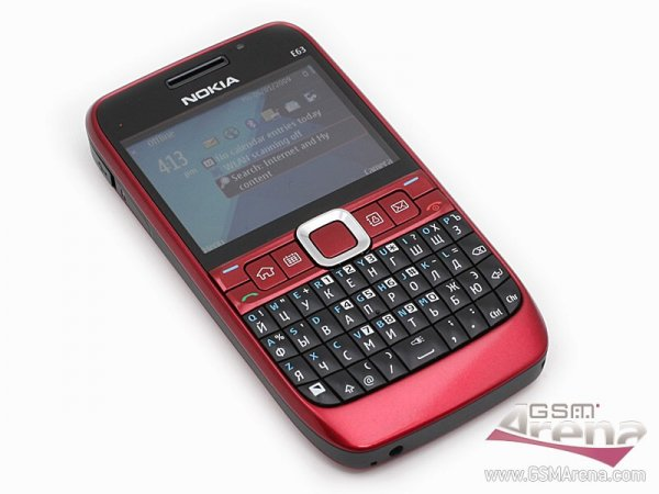 Мобильные телефон Nokia E63: актуальная «Е»кономичность - Обзор