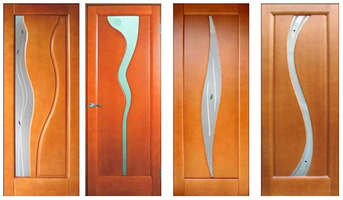 Деревянные межкомнатные двери можно заказать в следующей цветовой гамме...